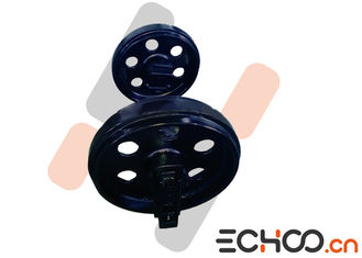 China Hitachi EX30/EX35 / EX40UR Mini Excavator Front Idler With Double Flanges supplier